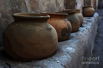 Photograph - Pottery Mission San Jose De Tumacacori by Bob Christopher