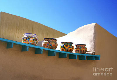Photograph - Pottery Row by Heidi Hermes