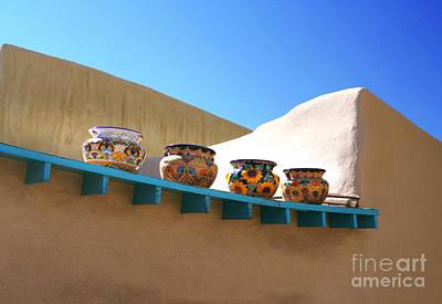 Photograph - Pottery Row by Heidi Hermes