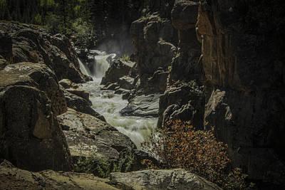 Photograph - Poudre Falls by Angelique Rea
