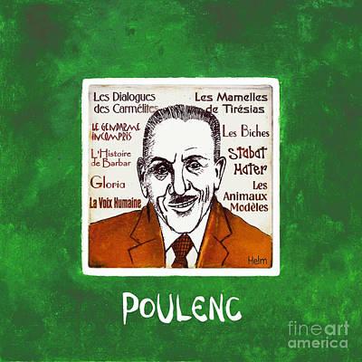 Poulenc Art Print by Paul Helm