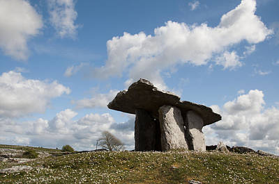 Photograph - Poulnabrone Dolmen by Rob Hemphill