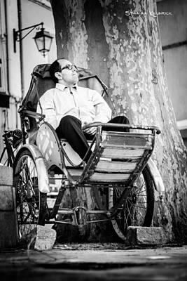 Rowing Royalty Free Images - Pouss pouss man  Royalty-Free Image by Stwayne Keubrick