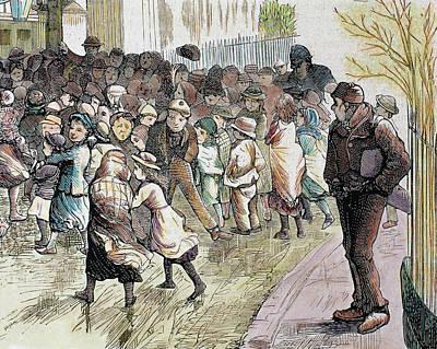 Poverty In Sheffield Art Print by Prisma Archivo