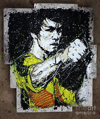 Ufc Painting - POW by Chris Mackie