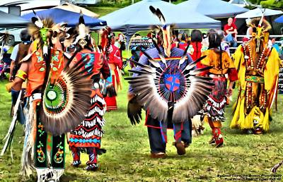 Photograph - Pow Wow At Redcliff by Michelle and John Ressler