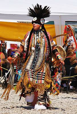 Photograph - Pow Wow Dancer by Al Fritz
