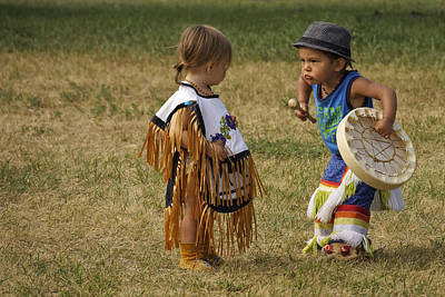 Photograph - Pow Wow by Inge Riis McDonald