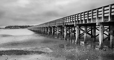 Duxbury Photograph - Powder Point Bridge Duxbury by Steven David Roberts