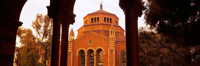 Ucla Photograph - Powell Library At An University Campus by Panoramic Images