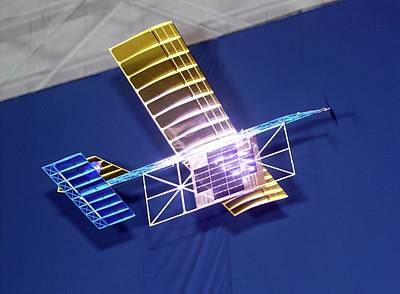 University Of Alabama Photograph - Power-beam Aircraft Research by Nasa/tom Tschida