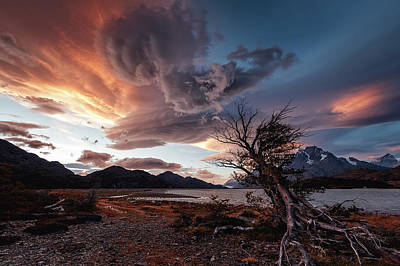 Struggling Photograph - Power Cloud by Adhemar Duro