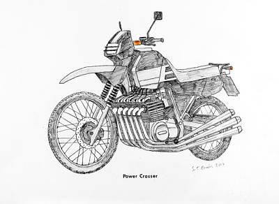 Power Crosser Art Print