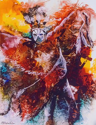 Dance Mixed Media - Power Dance I by Patricia Allingham Carlson
