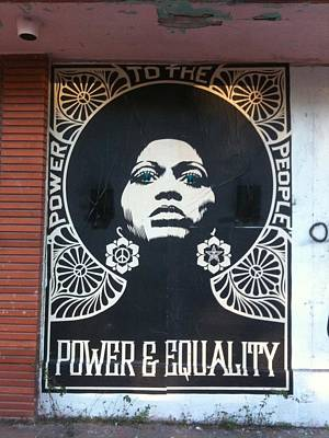 Power Wall Art - Photograph - #power #equality by Natalie Paz