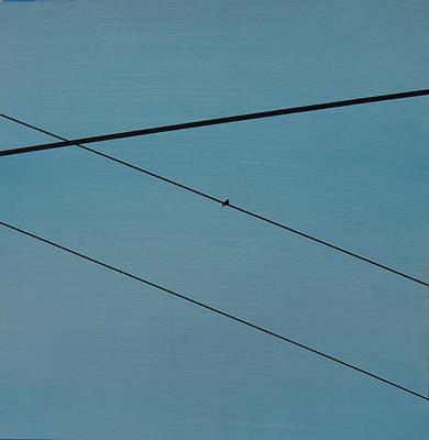 Power Lines 03 Art Print by Ronda Stephens