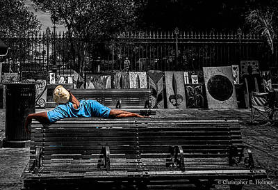 Photograph - Power Nap - 2 by Christopher Holmes