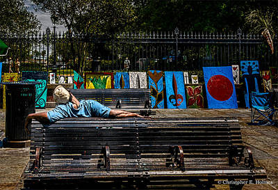 Photograph - Power Nap by Christopher Holmes