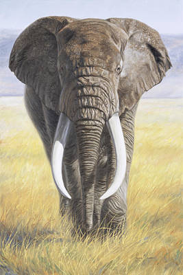 Africa Wall Art - Painting - Power Of Nature by Lucie Bilodeau