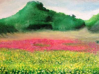 Painting - Power Of Spring by Giti Ala