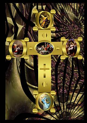 Digital Art - Power Of The Cross 2 by Robert Kernodle