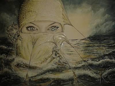 Shark Art - The Power of Faith by Esztella Sandor