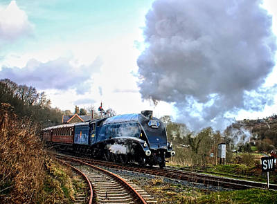 Vintage Diner Cars Royalty Free Images - Power On Royalty-Free Image by Paul Williams
