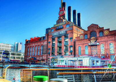 Power Plant Art Print by Debbi Granruth