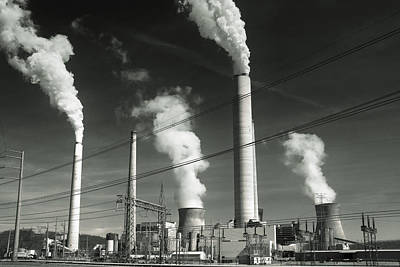 Photograph - Power Plant by Mary Almond