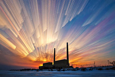 Photograph - Power Plant by Matt Molloy
