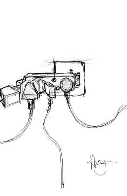 Digital Art - Power Plug by Khaya Bukula