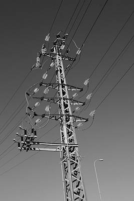 Discount Codes Wall Art - Photograph - Power Pole  by Doc Braham
