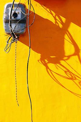 Power Shortage Art Print by Prakash Ghai