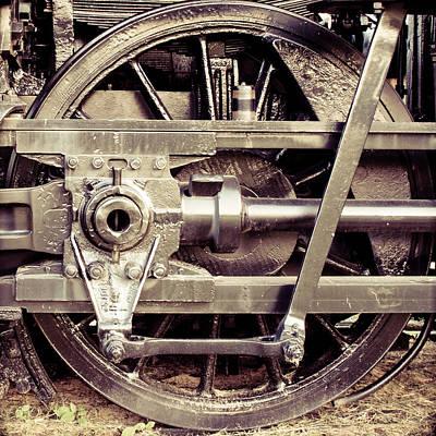 Steam Locomotive Photograph - Power Stroke by Geoff Mckay