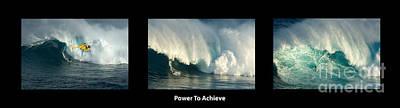 Power To Achieve Art Print by Bob Christopher