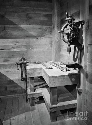 Drill Presses Photograph - Power Tools by Mel Steinhauer