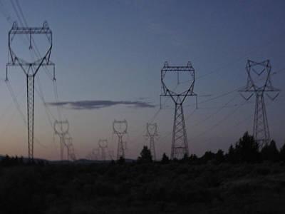 Power Towers Art Print