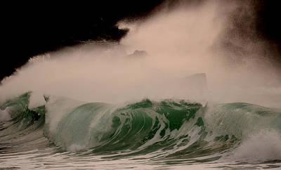 Power Wave Art Print by Barbara Walsh