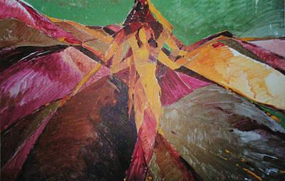 Painting - Power  by Yogendra  Sethi