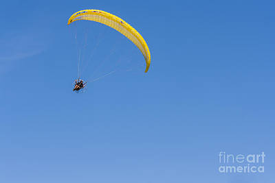 Photograph - Powered Paraglider by Brian Roscorla