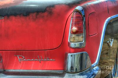 Car Names Photograph - Powerflite by Bob Christopher