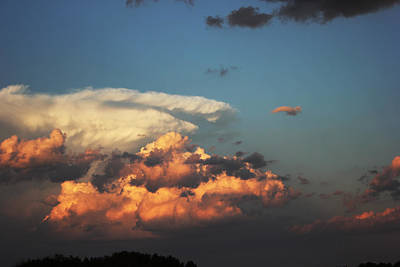 Art Print featuring the photograph Powerful Cloud by Ryan Crouse