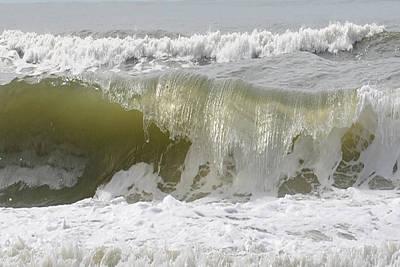 Powerful Wave Art Print by Michele Kaiser