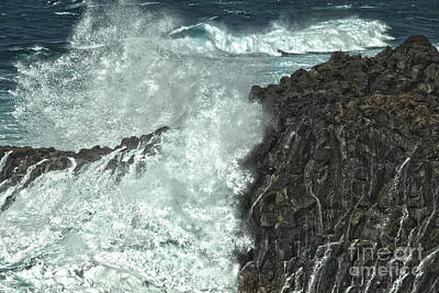 Photograph - Powerful Waves by Patricia Hofmeester