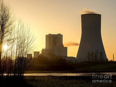 Industry Photograph - Powerhouse Walsum Duisburg Germany by Daniel Heine