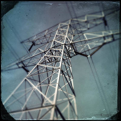 Photograph - Powerline by Tim Nyberg