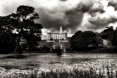 Photograph - Powerscourt Mansion And Gardens - Enniskerry - Ireland by Photography  By Sai