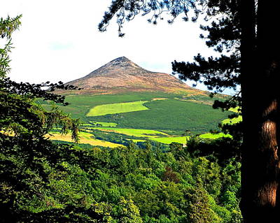 Photograph - Powerscourt View - Sugarloaf Mountain by Charlie and Norma Brock