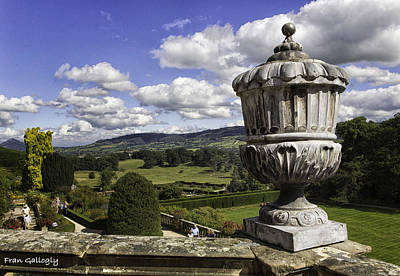 Photograph - Powis Castle Garden Urn by Fran Gallogly