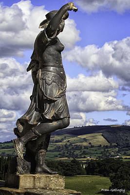 Photograph - Powis Castle Statuary by Fran Gallogly